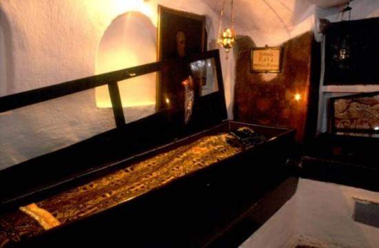 Рака с мощами преподобного Илии Муромского