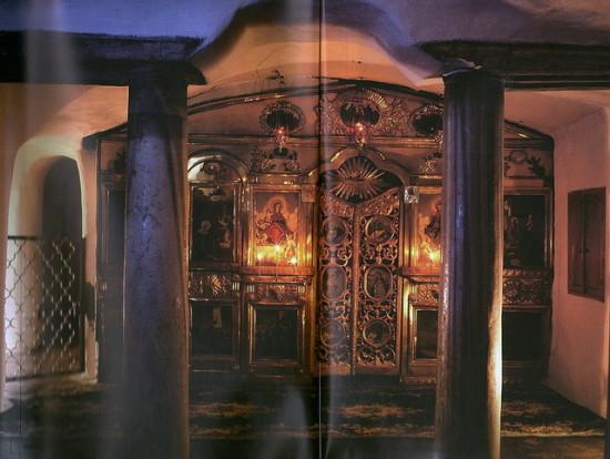 Подземный храм Введения Пресвятой Богородицы