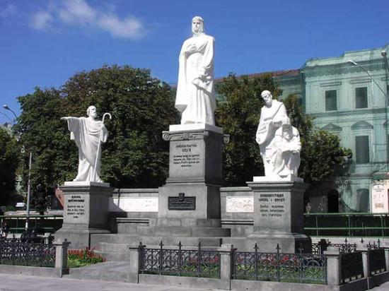 Памятник равноапостольной княгине Ольге
