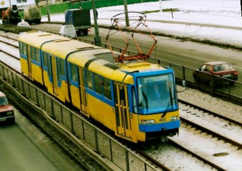 Скоростной трамвай в Киеве