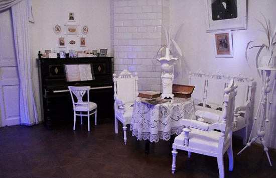 В музее М. Булгакова