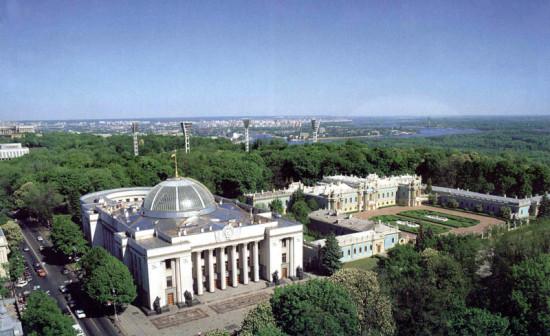 Верховна Рада Украины и Мариинский дворец