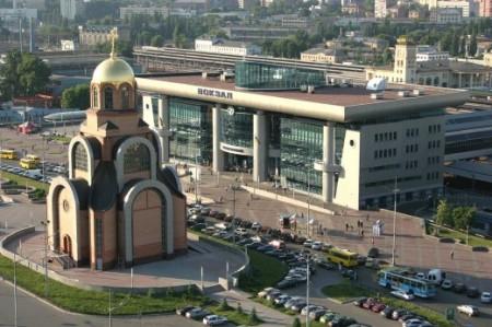 Церковь святого Георгия Победоносца и Южный вокзал