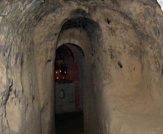 В Китаевских пещерах