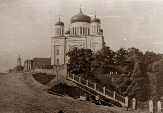 Десятинная церковь, построенная в 19-м веке