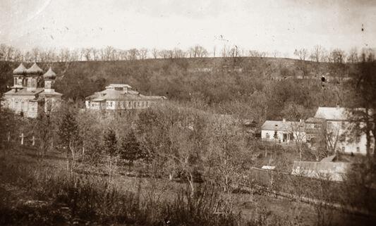 Скит Пречистыя в урочище Церковщина, начало 20-го века