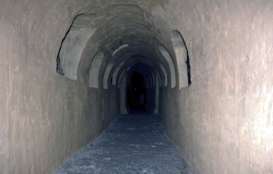 В Зверинецких пещерах