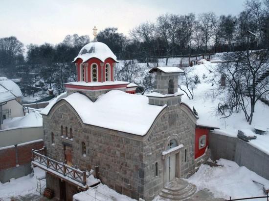 Зверинецкий пещерный монастырь