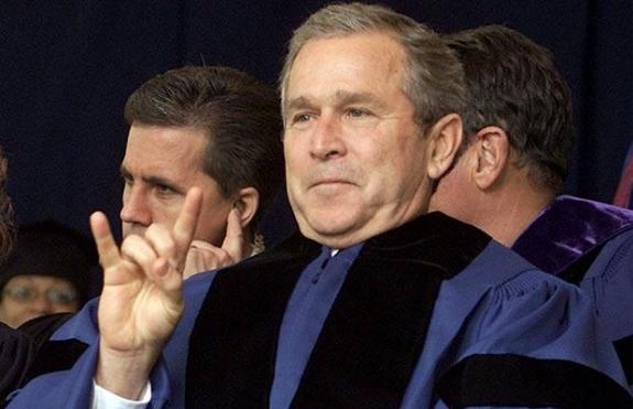 Экс-президент США Буш