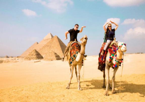 Наши туристы на отдыхе в Египте