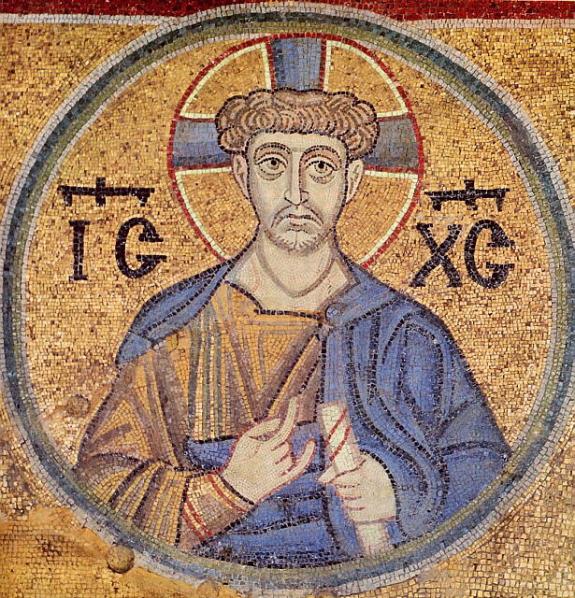 Мозаика «Христос-иерей»