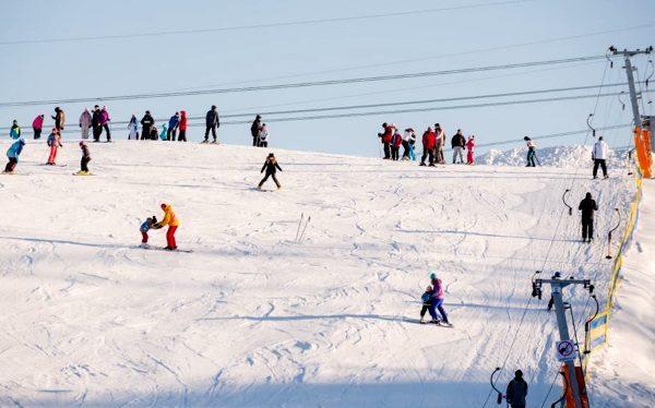 лыжный курорт под Киевом