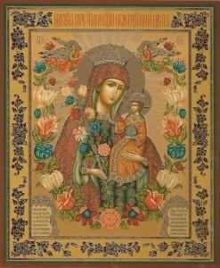 Молитва о замужестве к иконе неувядаемый цвет о замужестве