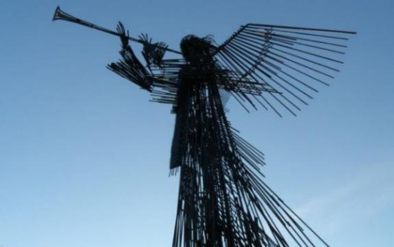 Экспозиция «Трубящий ангел», мемориальный комплекс «Звезда Полынь»