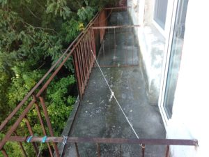 Вид с балкона номера