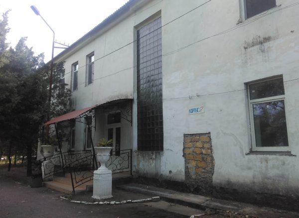 Корпус в санатории