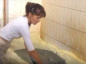 Подготовка к процедуре в грязелечебнице