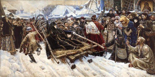 Боярыня Морозова (картина художника В. Сурикова)