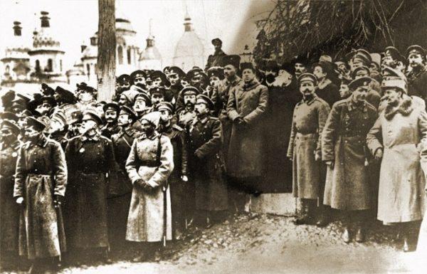 митинг в Киеве, 1918 год