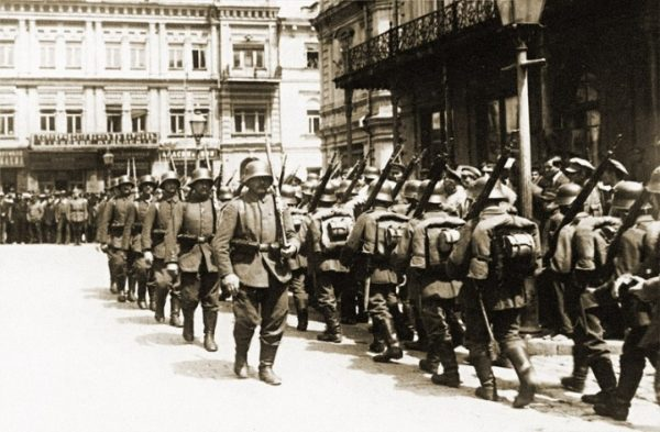 немцы в Киеве 1918 год