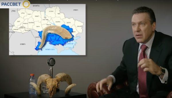 карта нового Иерусалима в Украине